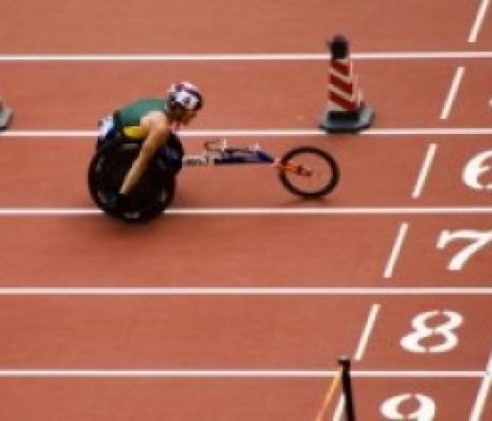 Paralimpiadi: omaggio agli atleti