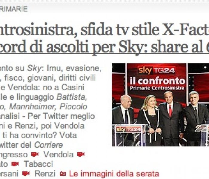 Il dibattito sulle primarie del centrosinistra: nuovo format, vecchie manie italiche