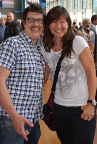 Carlo Gabardini e Patrizia La Daga