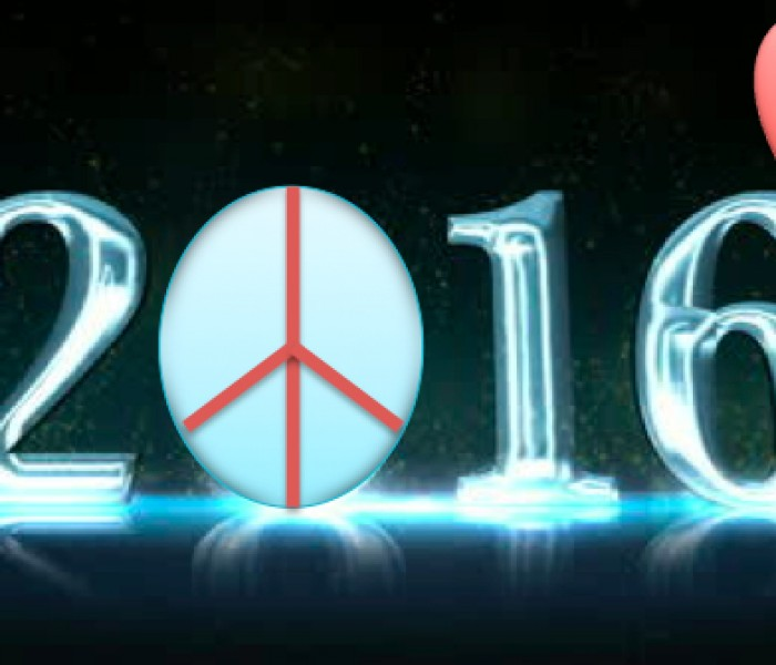 Gli eventi del 2015 e la speranza del 2016. Stop al terrorismo.