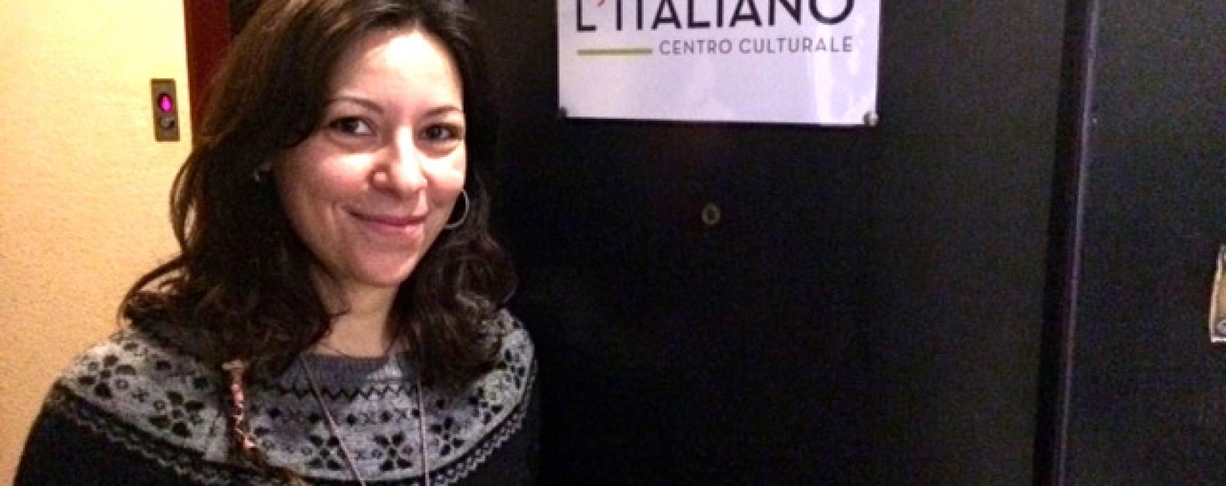 """Insegnare italiano all'estero. A Barcellona il centro """"Ama l'italiano"""" promuove la nostra cultura. La storia dell'intraprendente Ada Plazzo."""