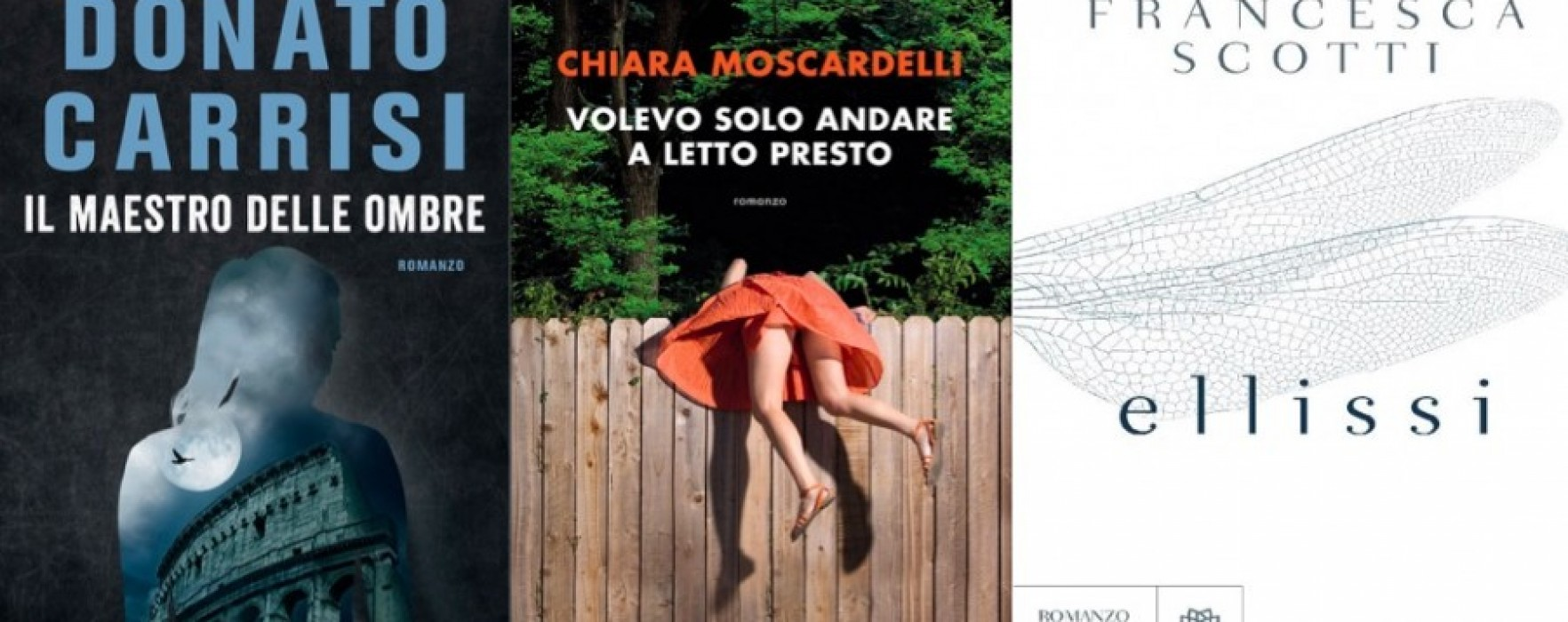 Tre romanzi, tre recensioni per tutti i gusti