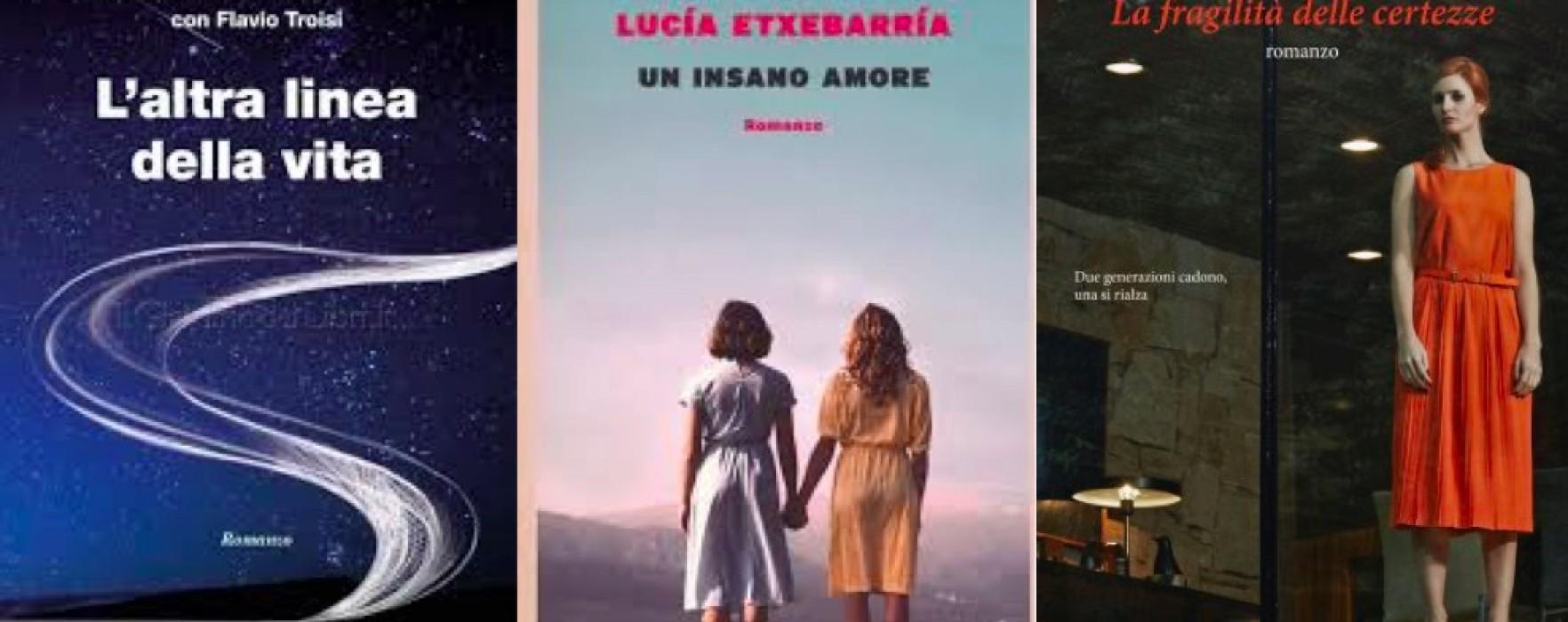 Libri di donne. Tre romanzi, tre universi paralleli